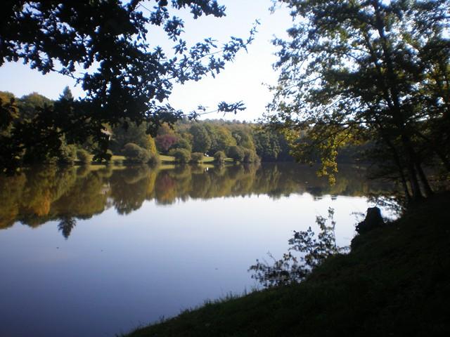 L'étang de Conore à Peyrilhac