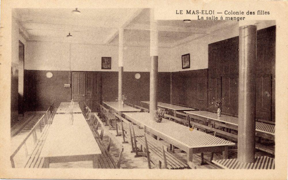 Colonie de vacances de l'union de Limoges. CPA collection privée.