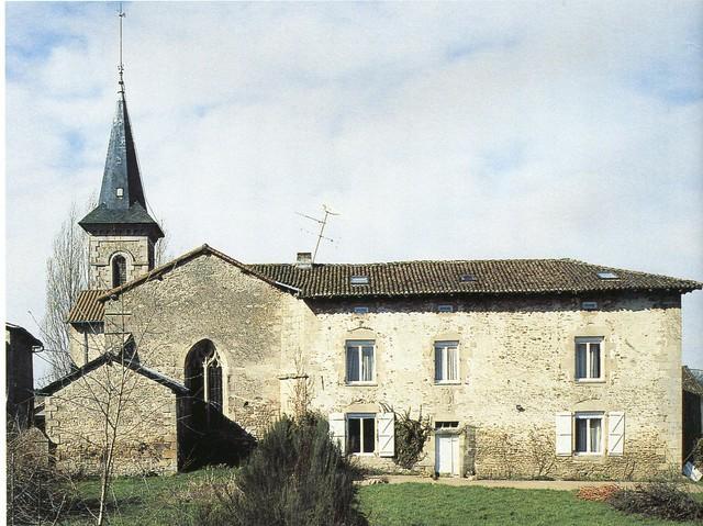 Egliseet presbytère,Saint-Jouvent, crédit photoPhilippeRivière,SRIduLimousin.