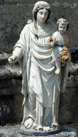 Statuette de la Vierge. Photo DRAC Limousin