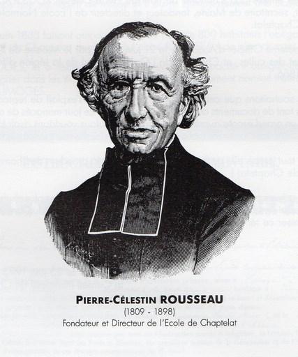 Pierre-Célestin Rousseau (1809-1898), in Le Curé de Chaptelat et son oeuvre pédagogique, 1993, page 1
